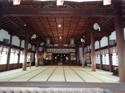 真清田神社の本殿