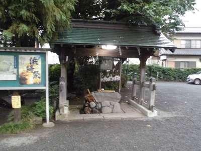 菅谷神社の手水