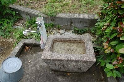 観音寺の手水