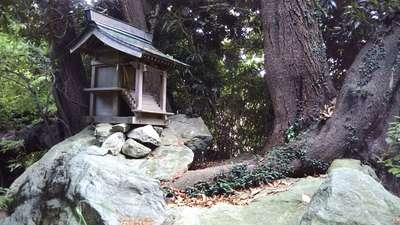 神社(名称不明)の建物その他