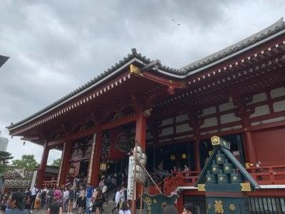 東京都浅草寺の本殿