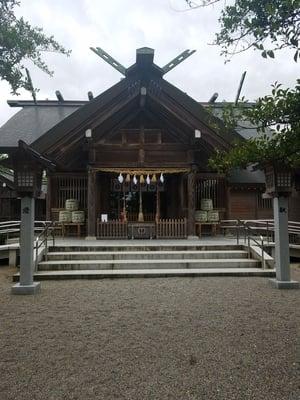 富山県櫛田神社の写真