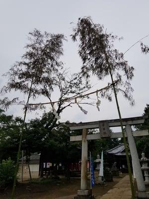 茨城県香取社(伏木香取神社)の鳥居