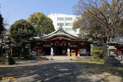 大阪府豊崎神社の本殿