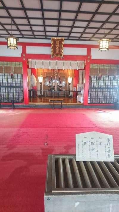箱根元宮の本殿
