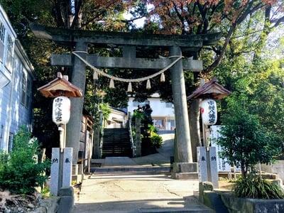 神奈川県中村八幡宮の写真