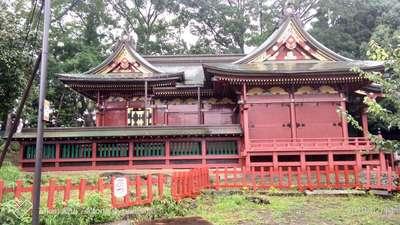 埼玉県三芳野神社の本殿