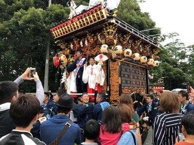 山名神社のお祭り
