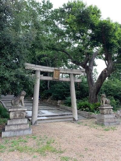 大阪府住吉大社の鳥居