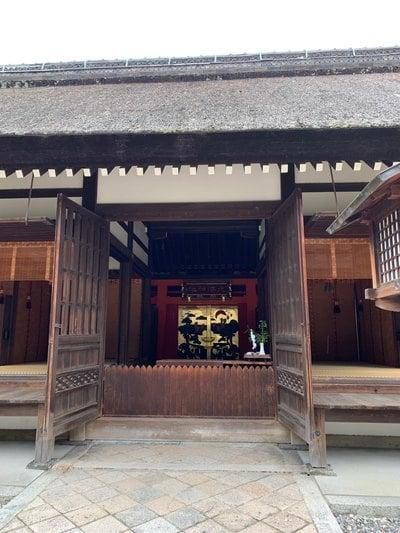 大阪府住吉大社の本殿