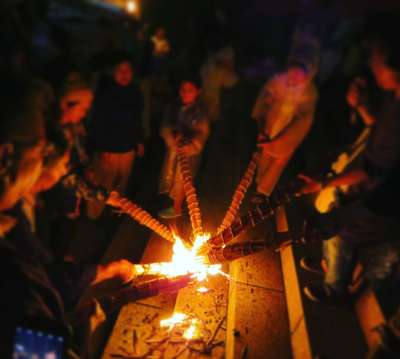 広島県沼名前神社のお祭り