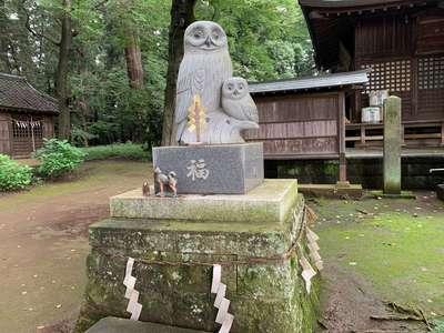 野木神社の狛犬