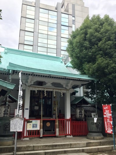 椙森神社の本殿