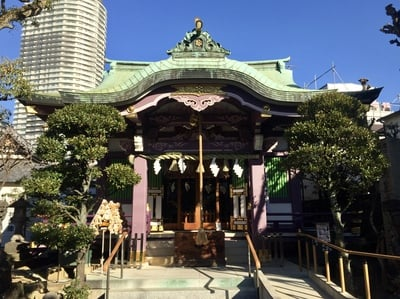 高木神社の本殿