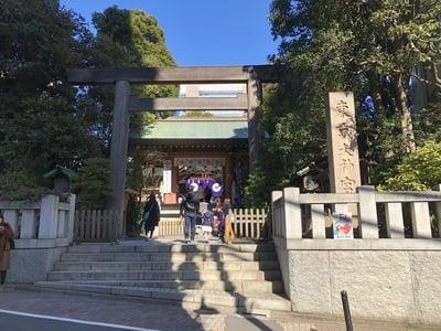 東京都東京大神宮の鳥居