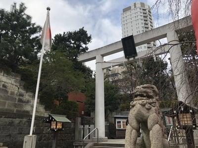 東京都乃木神社の鳥居