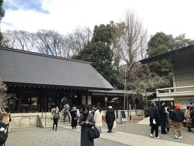 東京都乃木神社の本殿