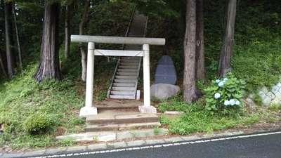 青龍神社の鳥居