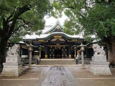 東京都穴八幡宮の本殿