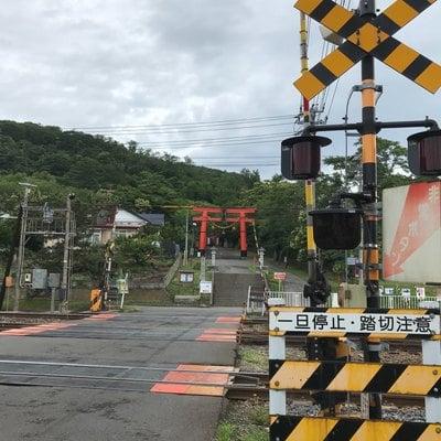 虻田神社の周辺