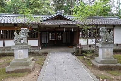 奈良県養天満宮の本殿