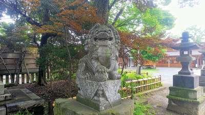 和樂備神社の狛犬
