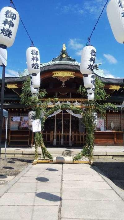 厄除の宮 駒林神社のお祭り