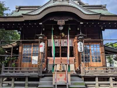 大阪府産土神社の本殿