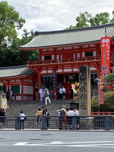 京都府八坂神社(祇園さん)の山門