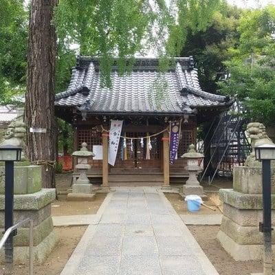東京都栗原氷川神社の本殿