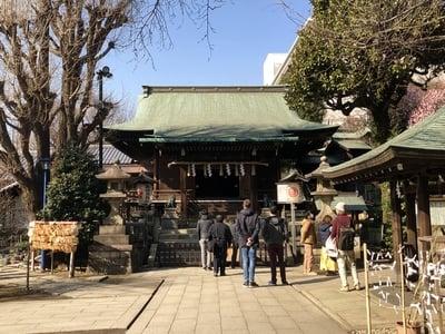 東京都五條天神社の本殿