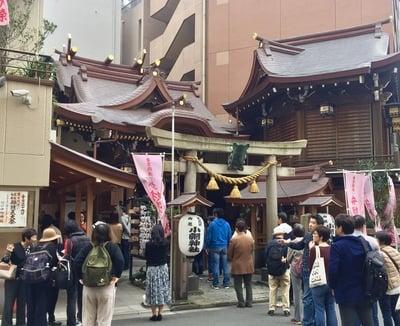 東京都小網神社の鳥居