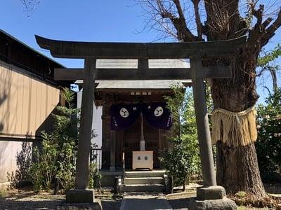 筑土八幡神社の鳥居