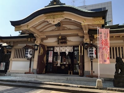 高輪神社の本殿
