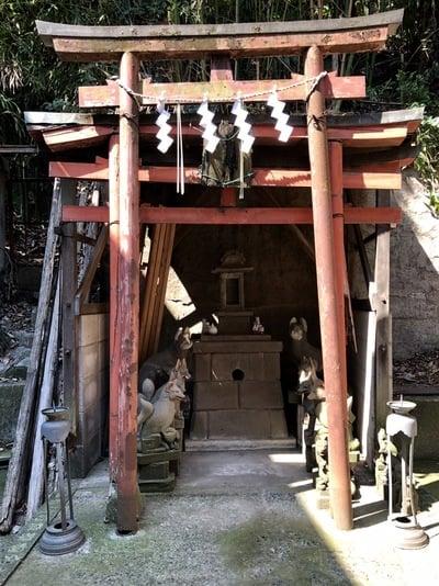 御田八幡神社の末社