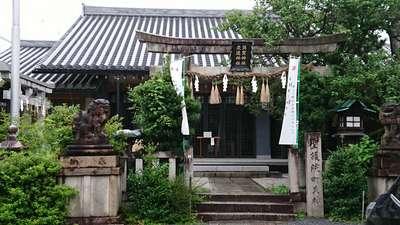 京都府須賀神社の鳥居