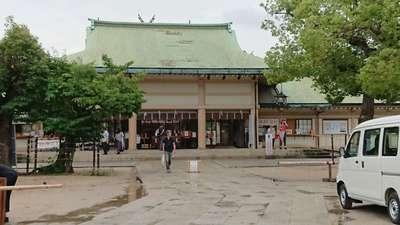 大阪府生國魂神社の本殿