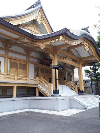 北海道新善光寺の本殿