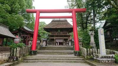 熊本県青井阿蘇神社の鳥居