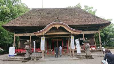 熊本県青井阿蘇神社の本殿