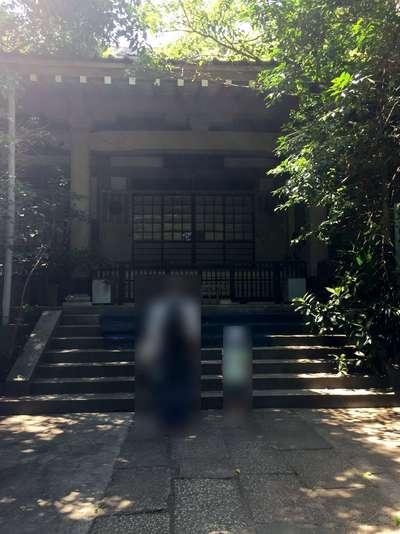 東京都普門院の本殿