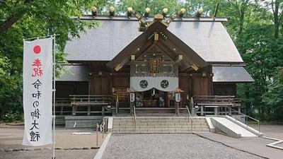 旭川神社の本殿