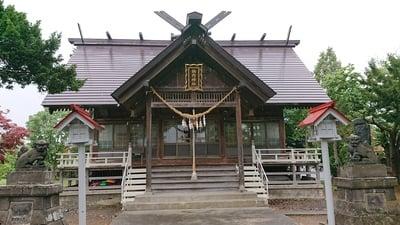 北海道納内神社の写真