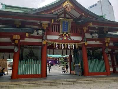 日枝神社の山門
