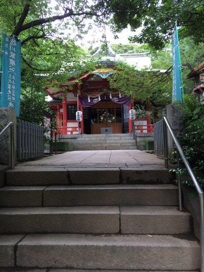 東京都芝東照宮の本殿