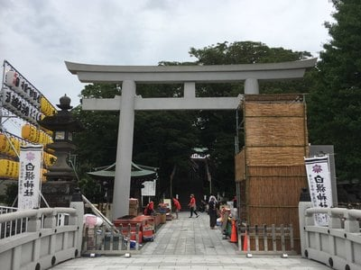 白旗神社(神奈川県)