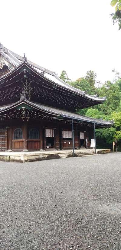 京都府泉涌寺の本殿