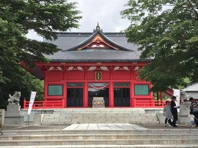 赤城神社の山門