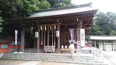 神奈川県富岡八幡宮の写真