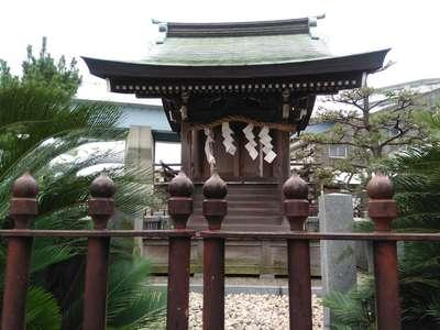 神奈川県琵琶島神社の写真